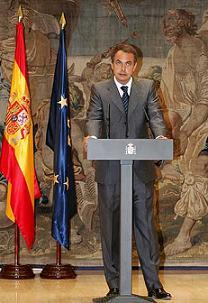 Cambios en el Gobierno del Sr. Rodríguez Zapatero